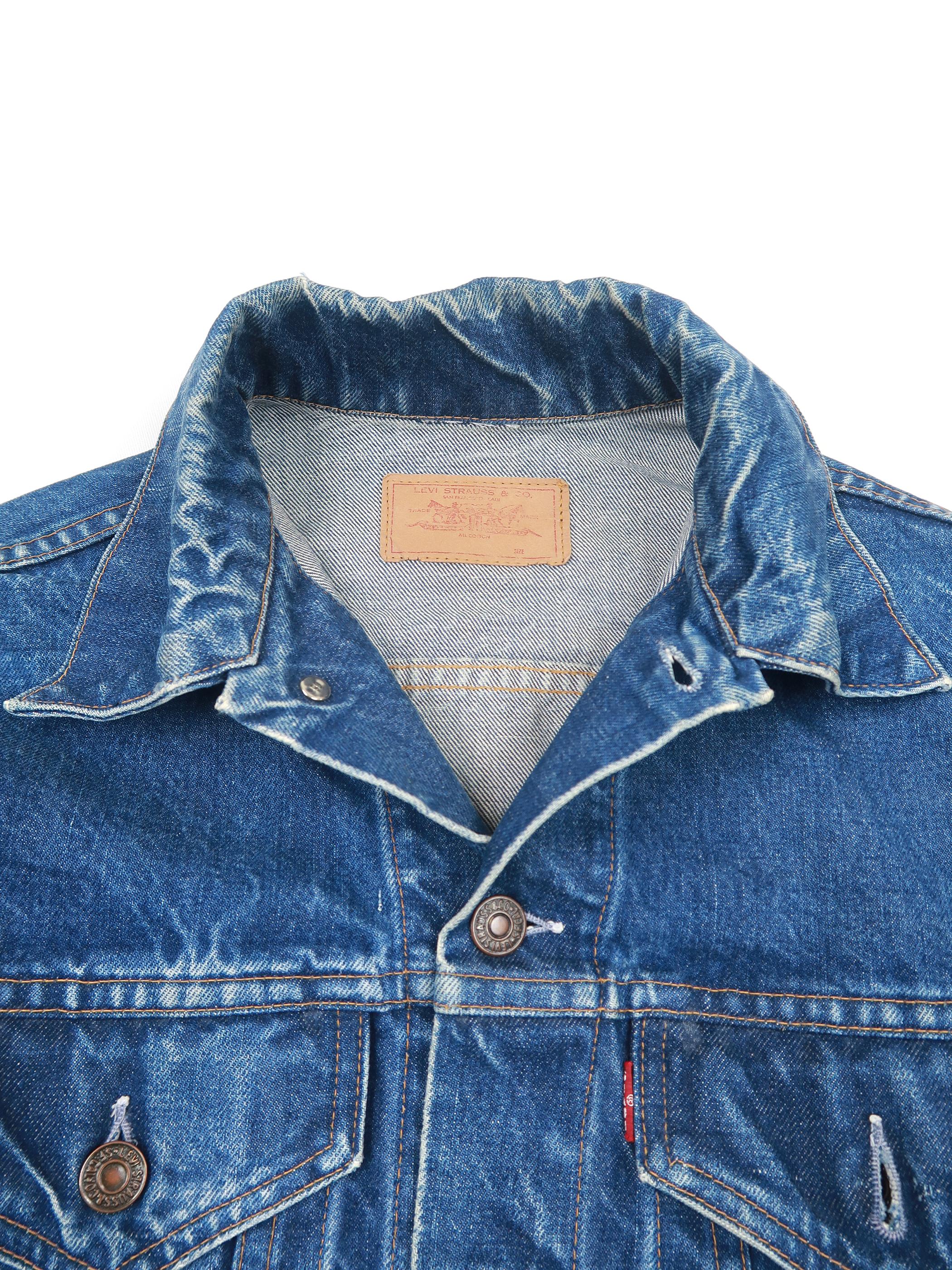 70年代 リーバイス 70505 デニムジャケット BIGE