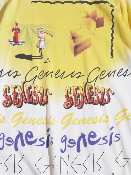 "1990s ""genesis"" both print tee -WHITE-"