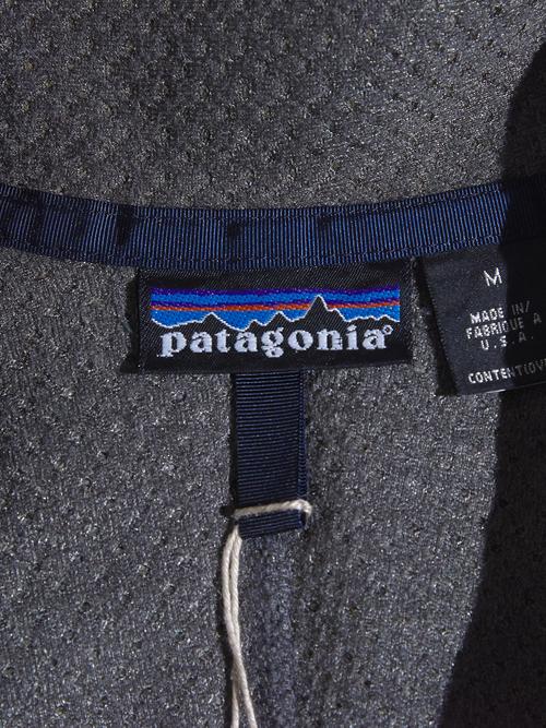 "1990s ""patagonia"" retro cardigan -GREY-"