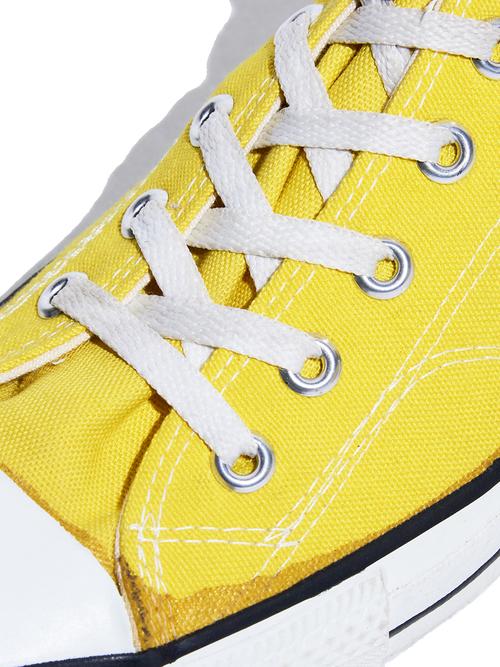 "1980s ""CONVERSE"" ALLSTAR Hi. canvas sneaker -YERROW-"