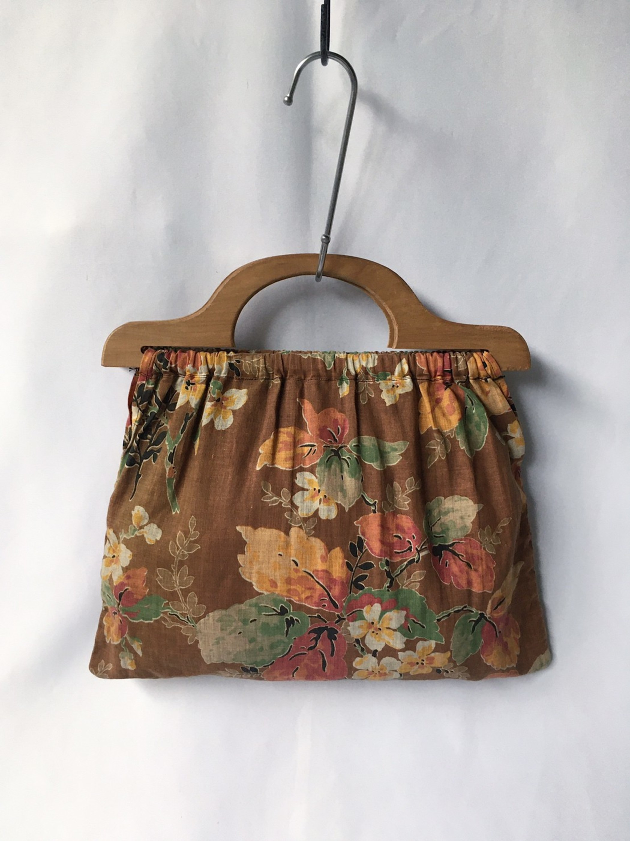 wood handle bag 60s