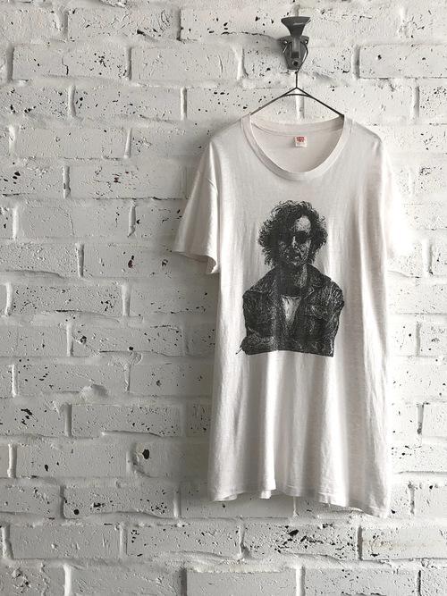 """John Lennon """"In New York City"""" 80's T-shirt"""