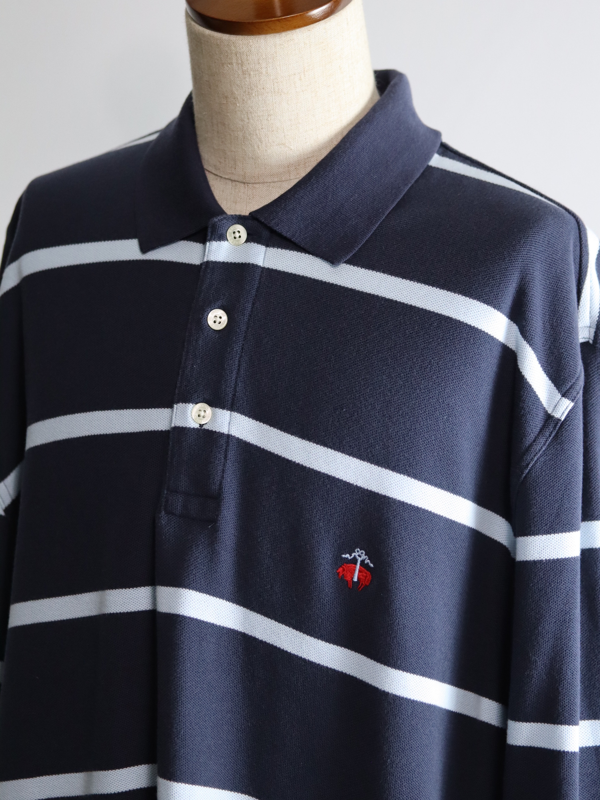 Brooks Brothers Border Polo Shirts