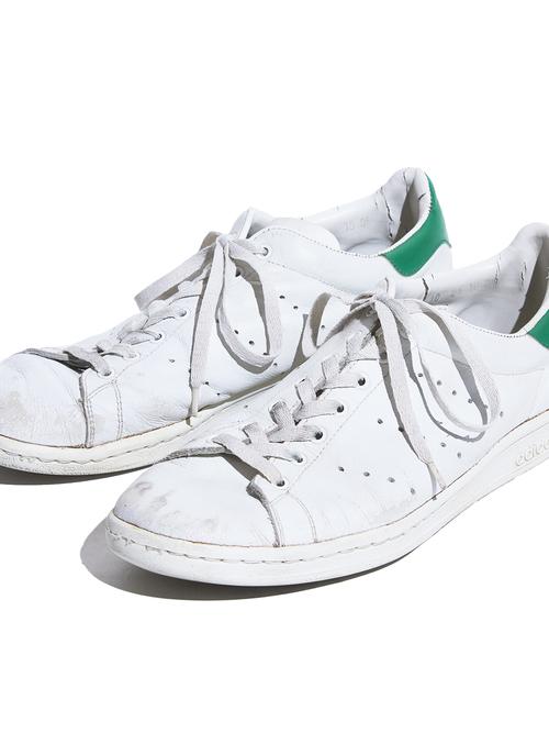 """1980s """"adidas"""" STAN SMITH leather sneaker -WHITE-"""
