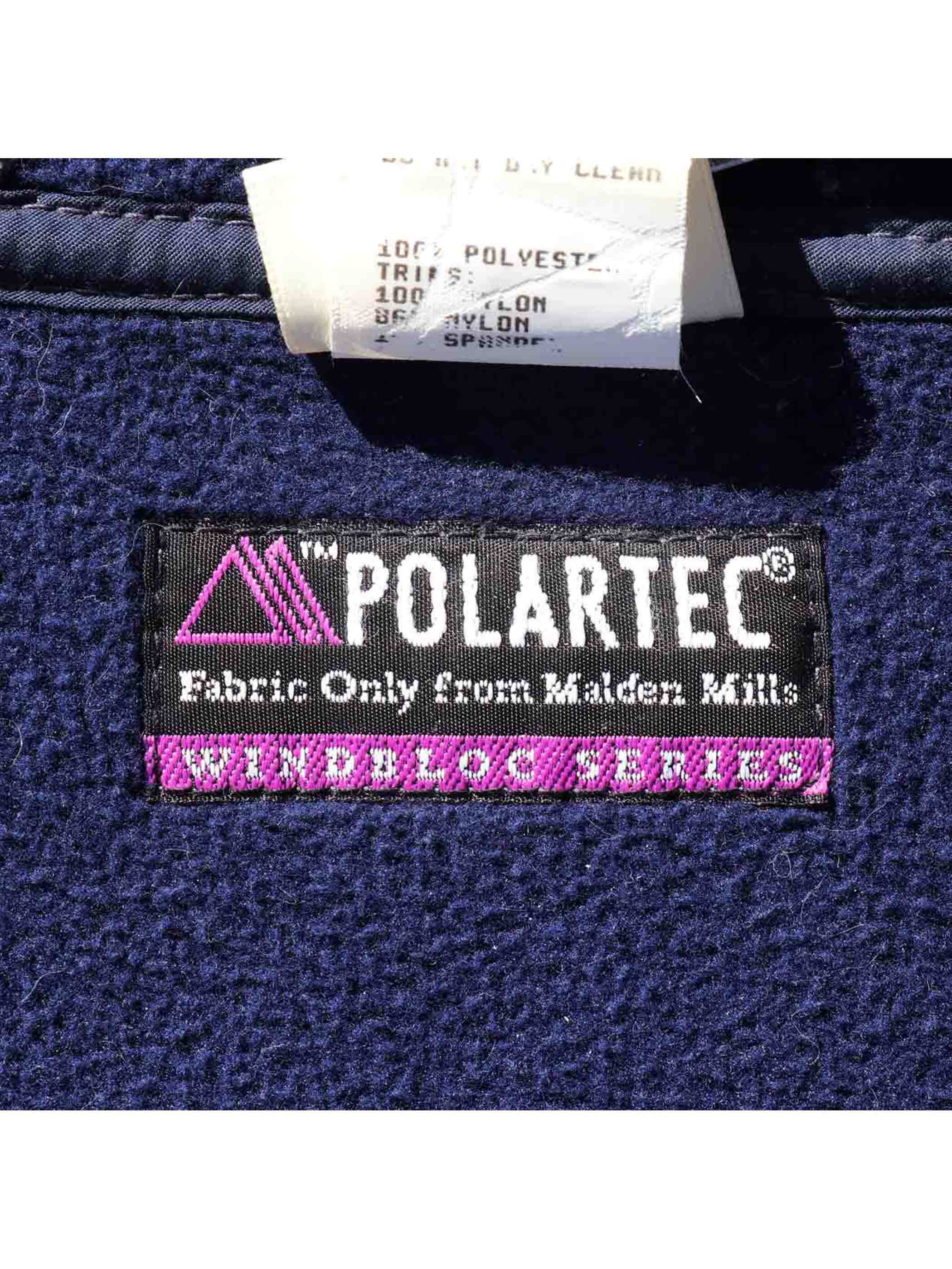 90's L.L.BEAN USA製 POLARTEC フリースプルオーバージャケット [Women's M]