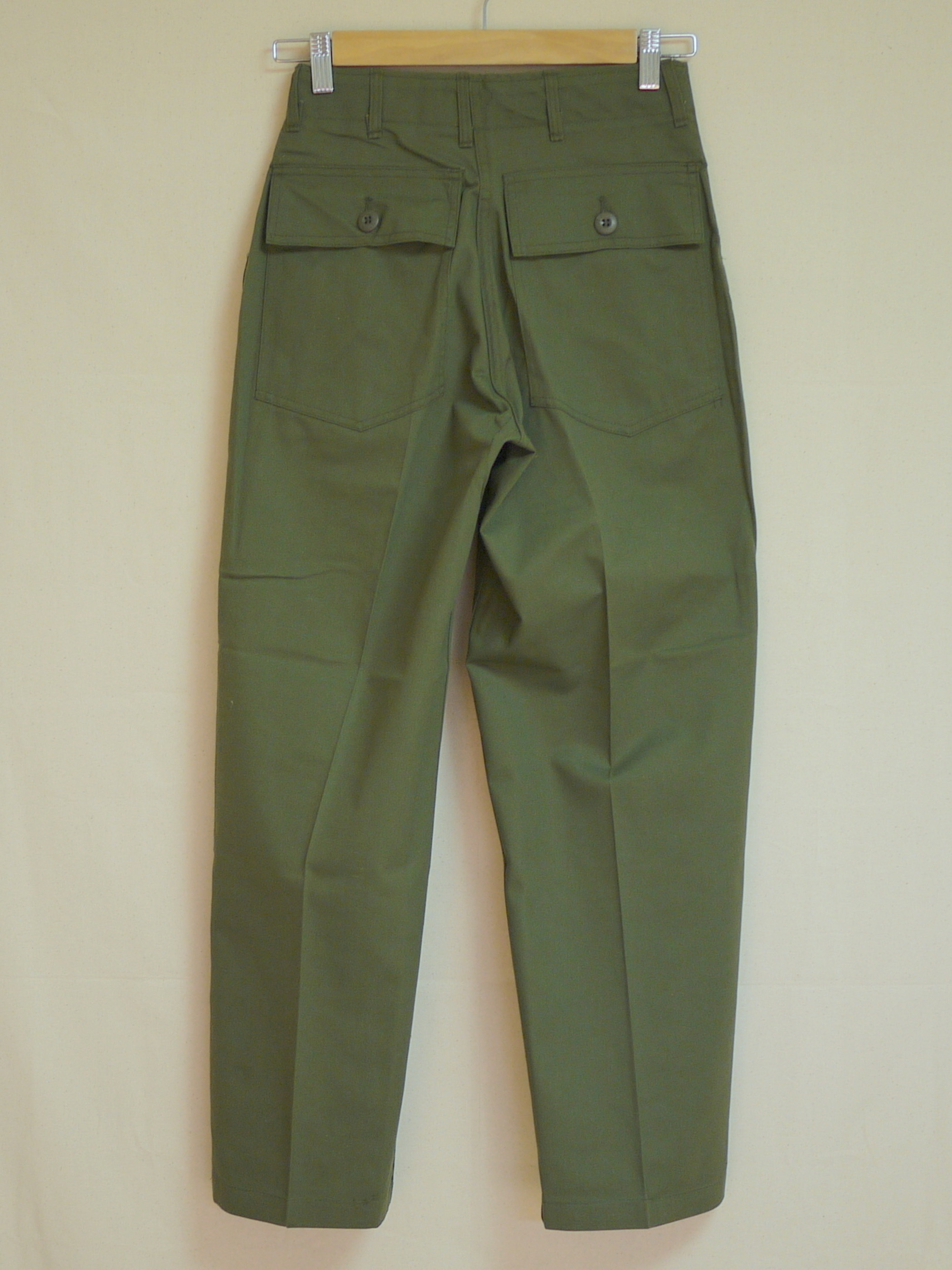"U.S.Military 1970's OG507 Utility Trousers W28L27 ""Dead stock"""