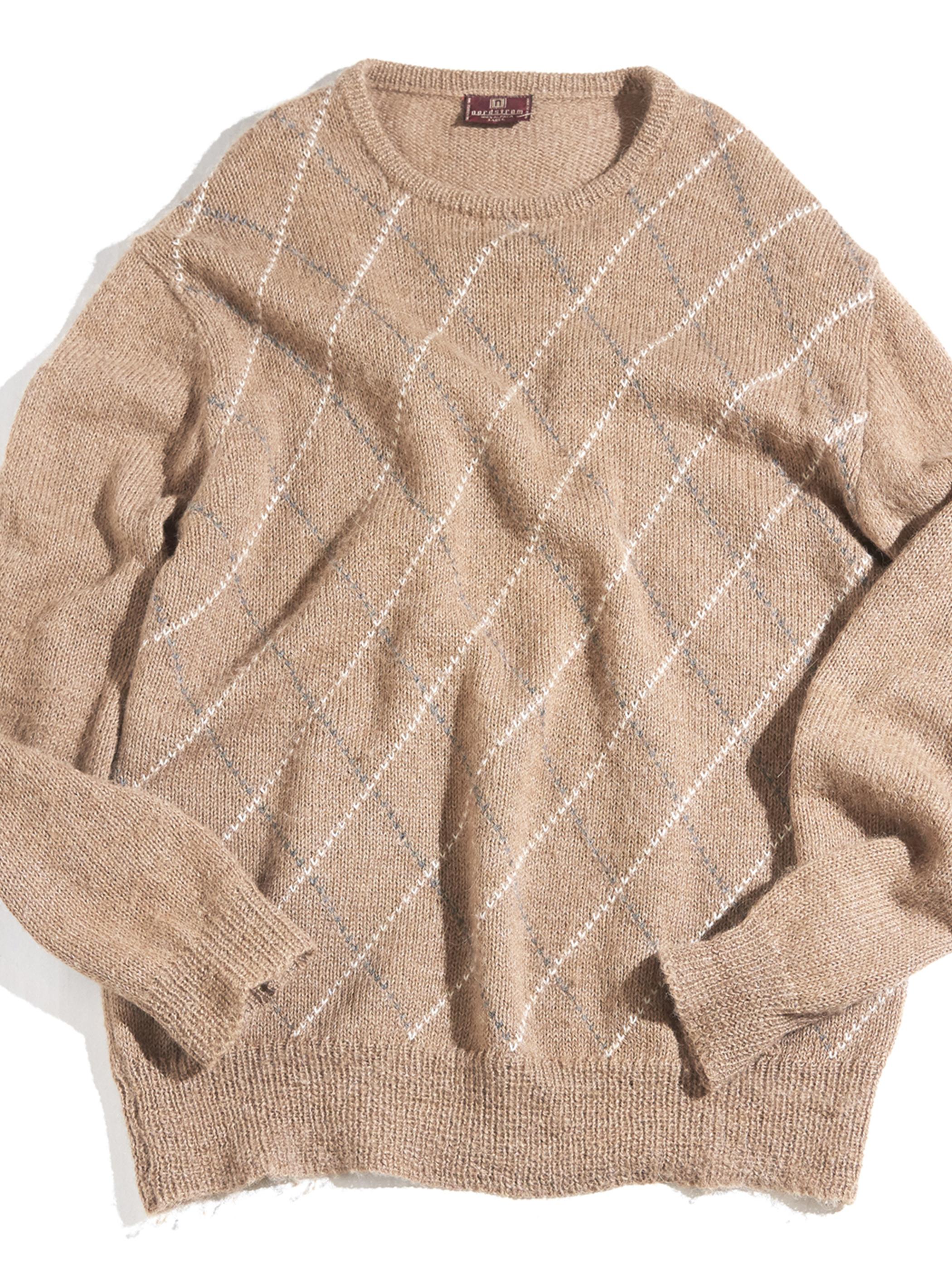 "1980s ""nordstrom"" alpaca knit -BEIGE- <SALE¥9000→¥7000>"