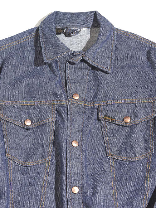 "1970s ""ROEBUCKS"" denim jacket -INDIGO- <SALE¥12500→¥10000>"