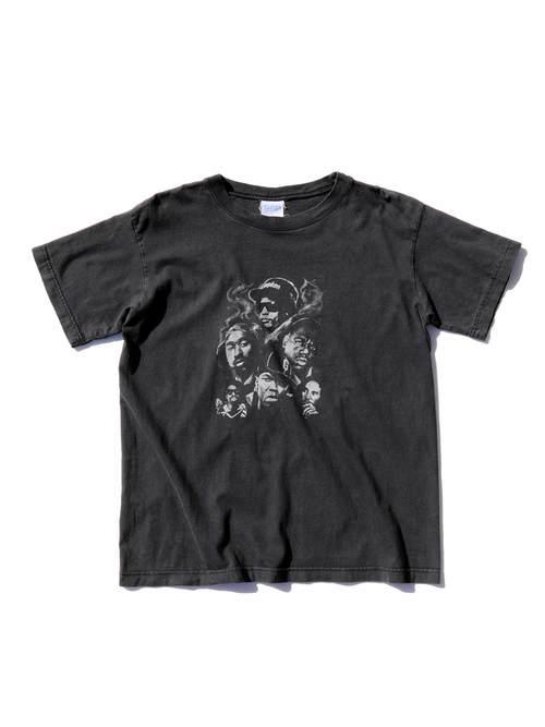 "90's~ BOOTLEG ""MIC LEGENDS"" プリントTシャツ [M]"
