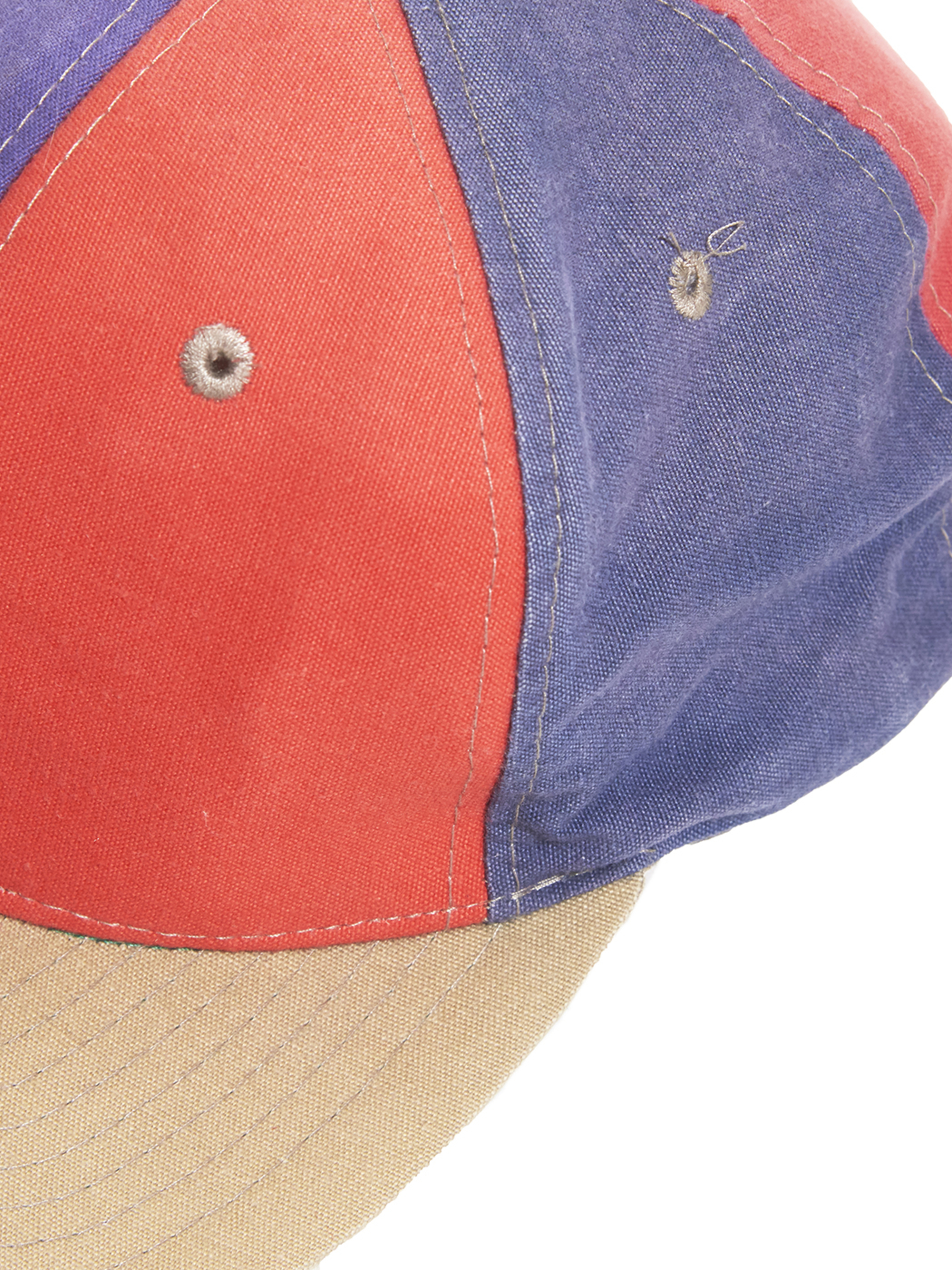 "1980s ""unknown"" crazy panel snap-back cap -CRAZY-"