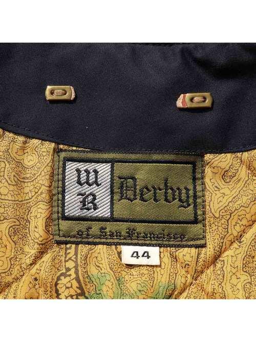 60's~ DERBY OF SAN FRANCISCO ダークネイビー ダービージャケット [44]