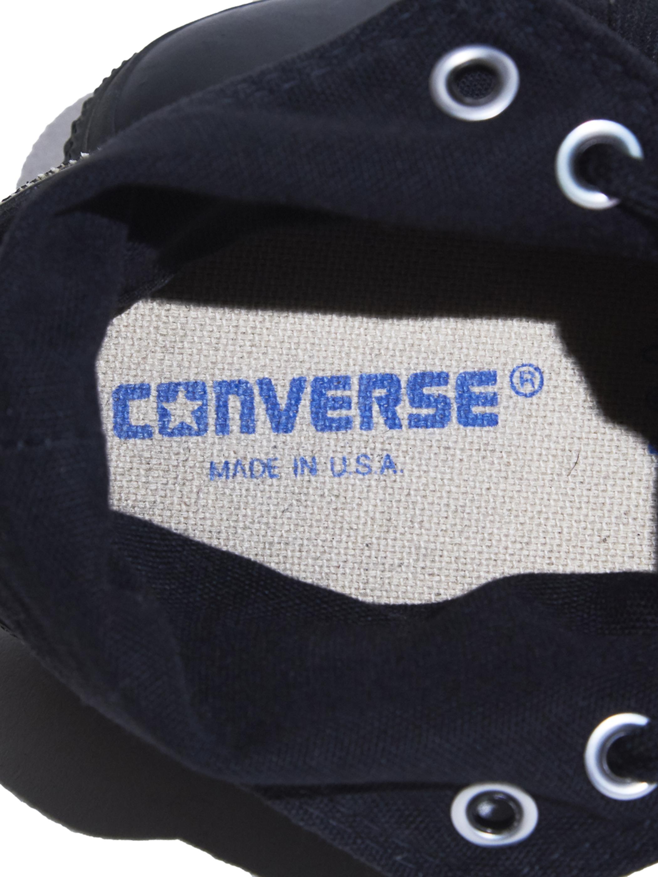"""1990s """"CONVERSE"""" ALLSTAR Hi. canvas sneaker -BLACK MONOCHROME-"""