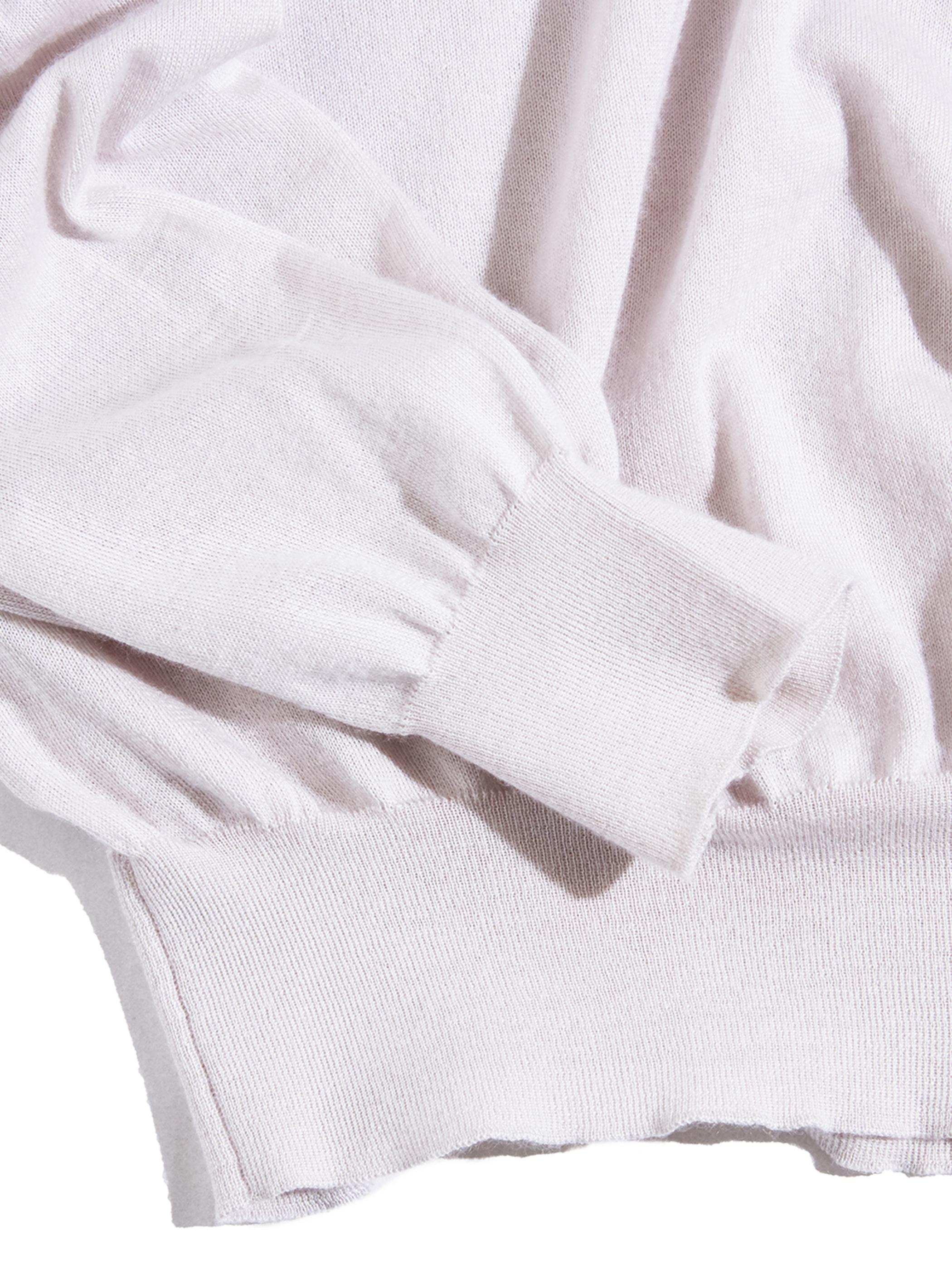 """1990s """"Lolo Piana"""" v-neck knit -GREY- <SALE¥15000→¥12000>"""