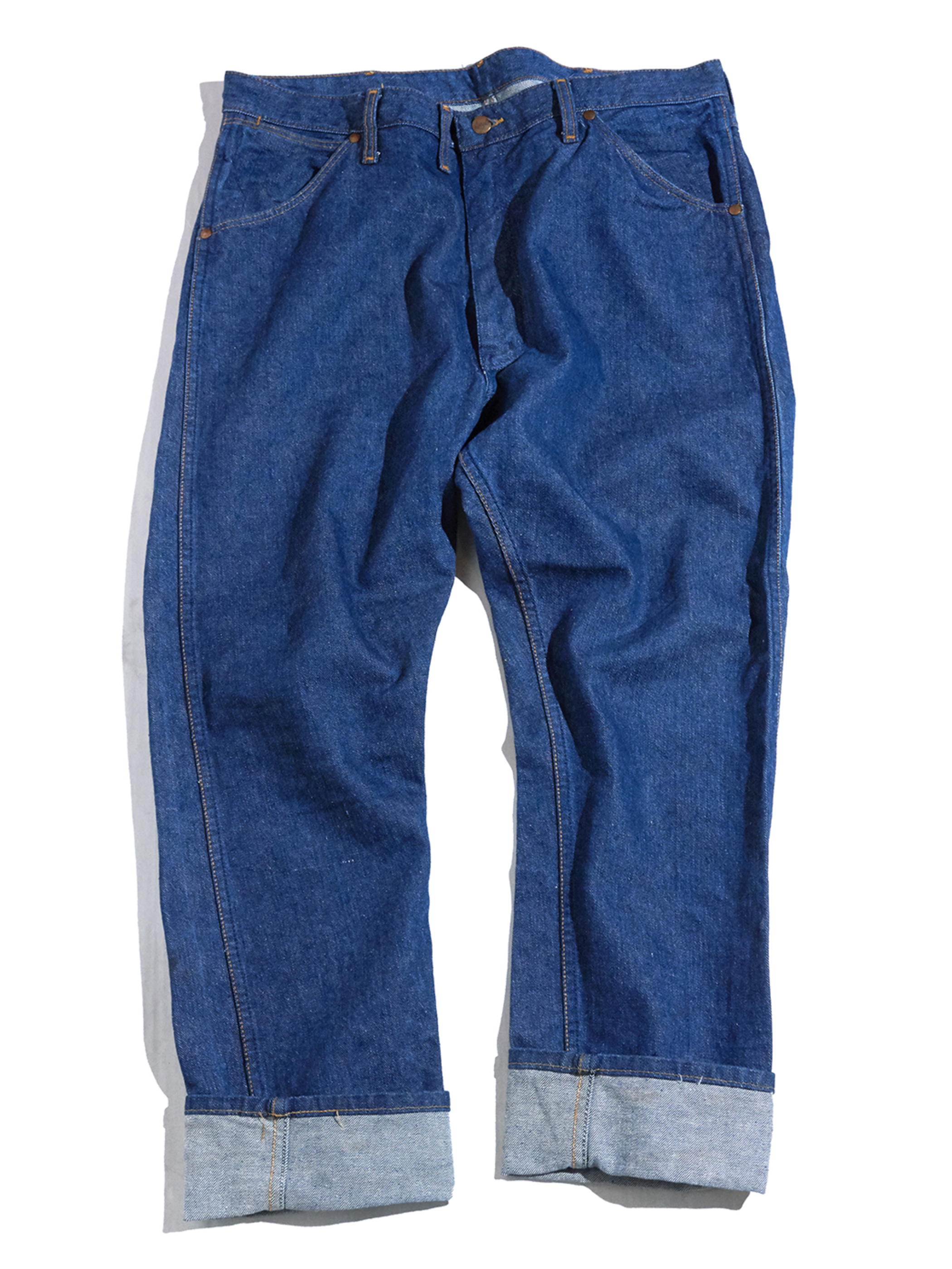 "1960s ""Wrangler"" 11MWZ blue bell denim pants -INDIGO-"