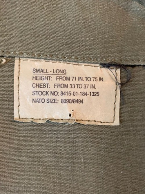 dead stock US ARMY コンバットジャケット