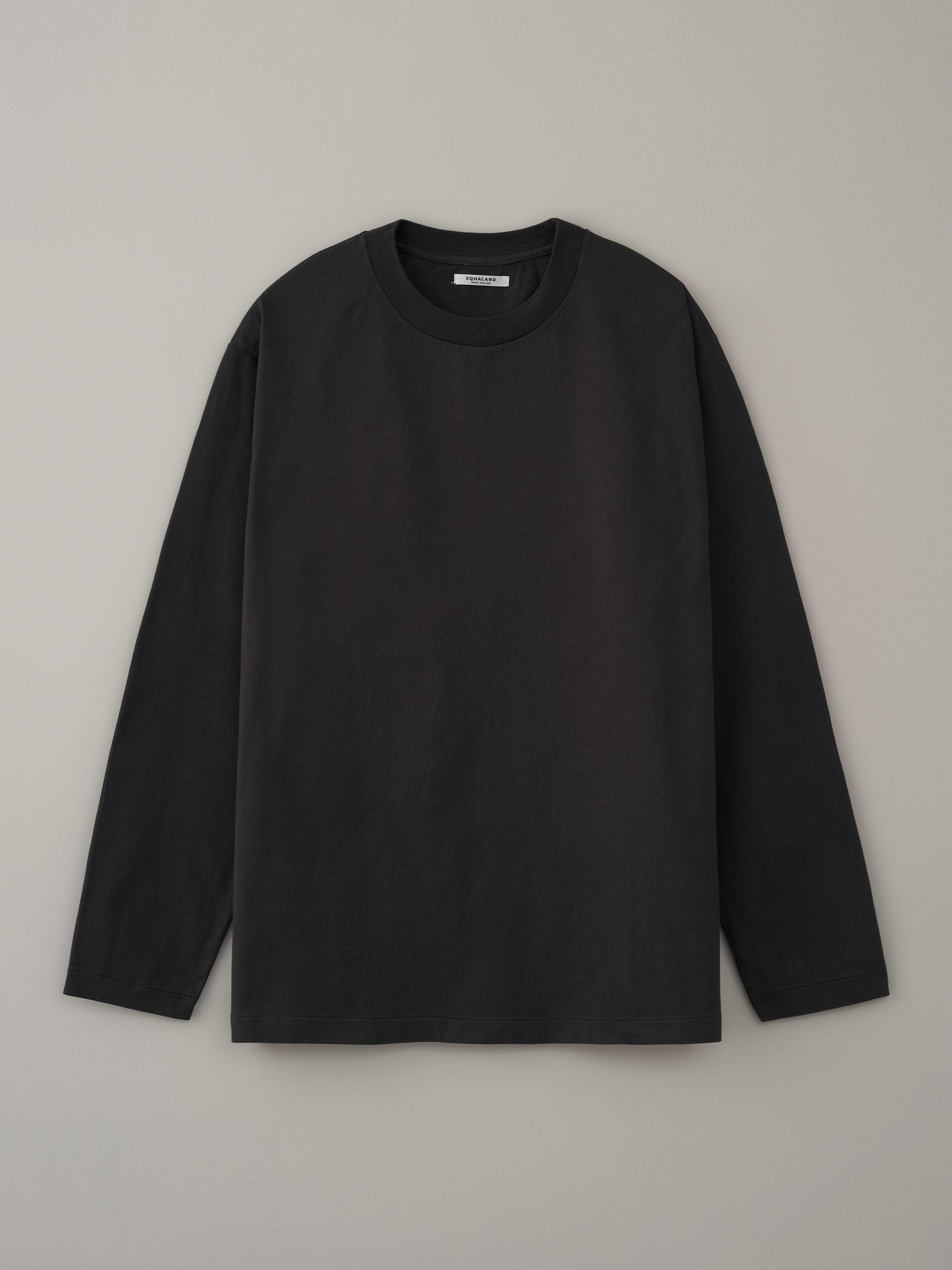 丸胴ロングスリーブTシャツ #11チャーガ
