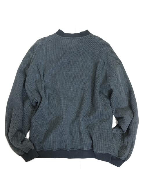 Garment dye zip blouson