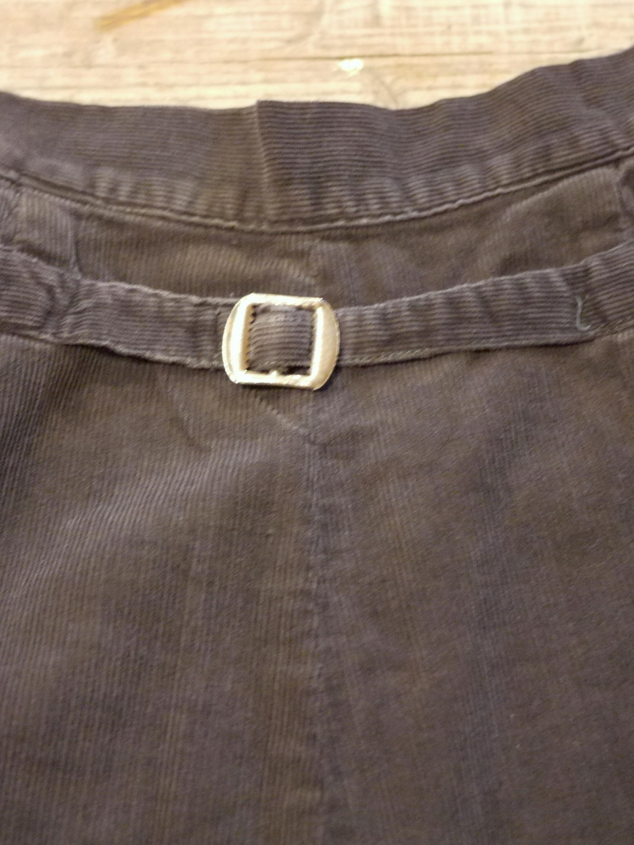1950's Corduroy pants