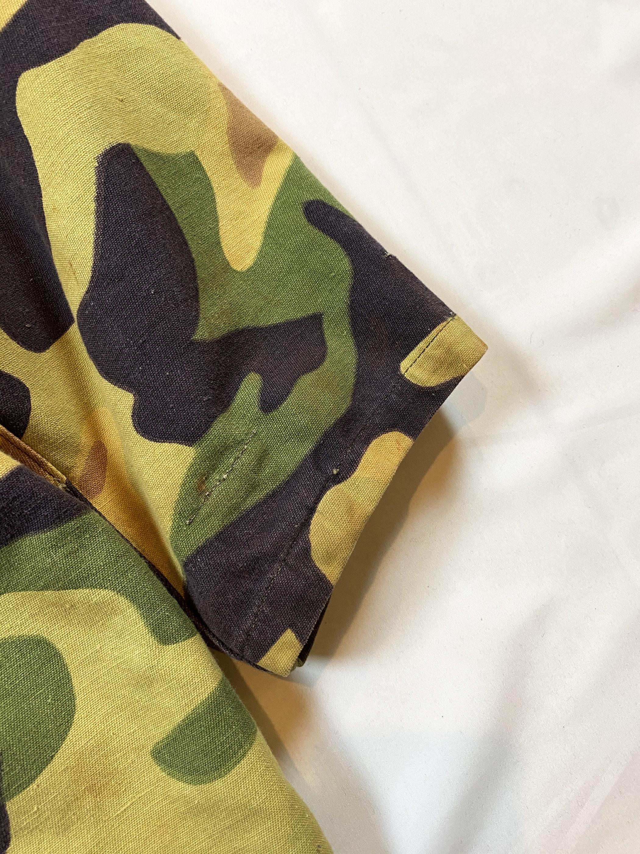 60's CzechSlovakia salamander camouflage coat