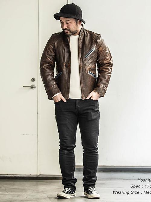 Used / Colt Horse Hide / 1960's Vintage / Horsehide Leather Jacket