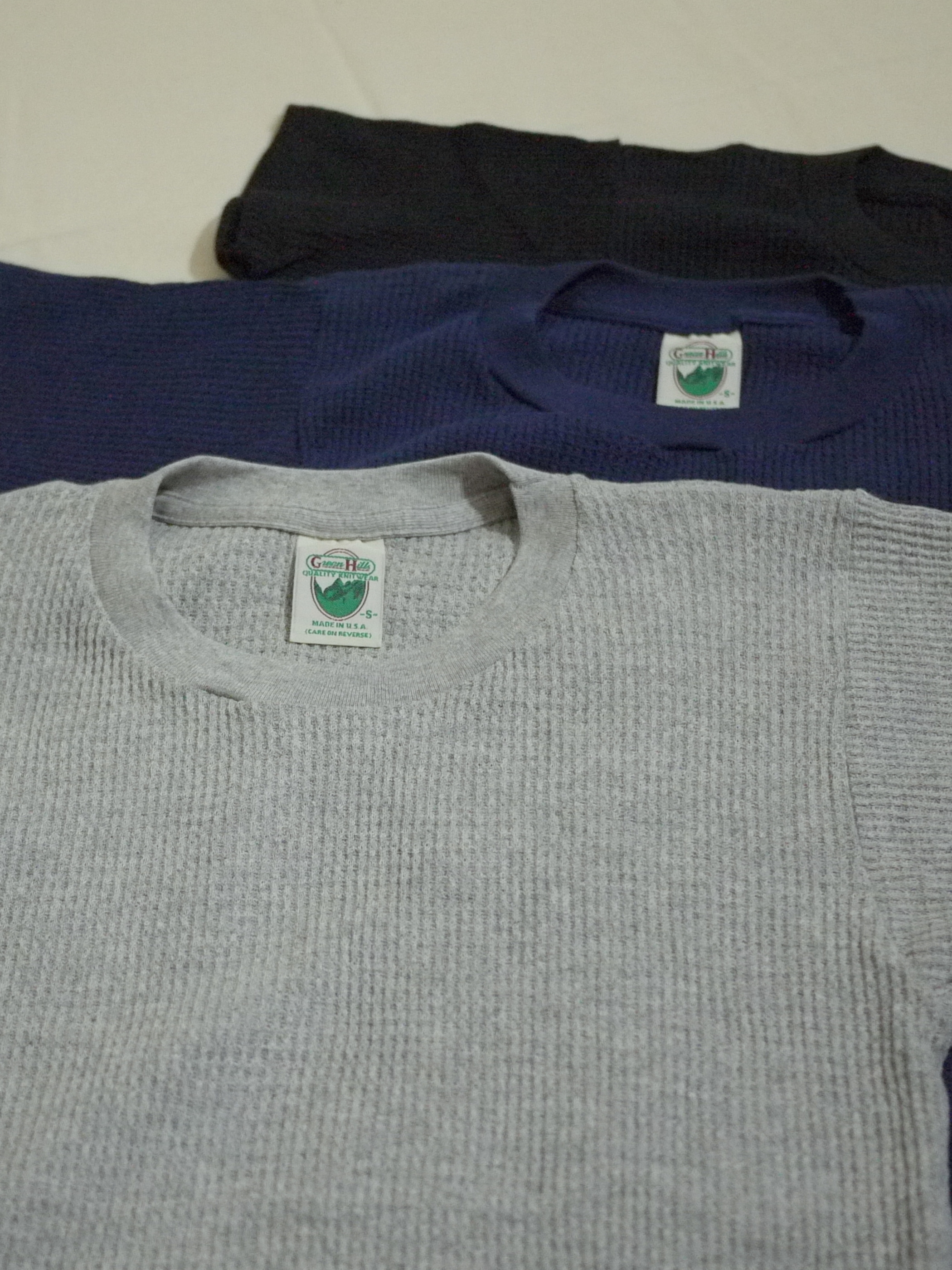 "Green Hills Thermal SizeS ""Dead Stock"""