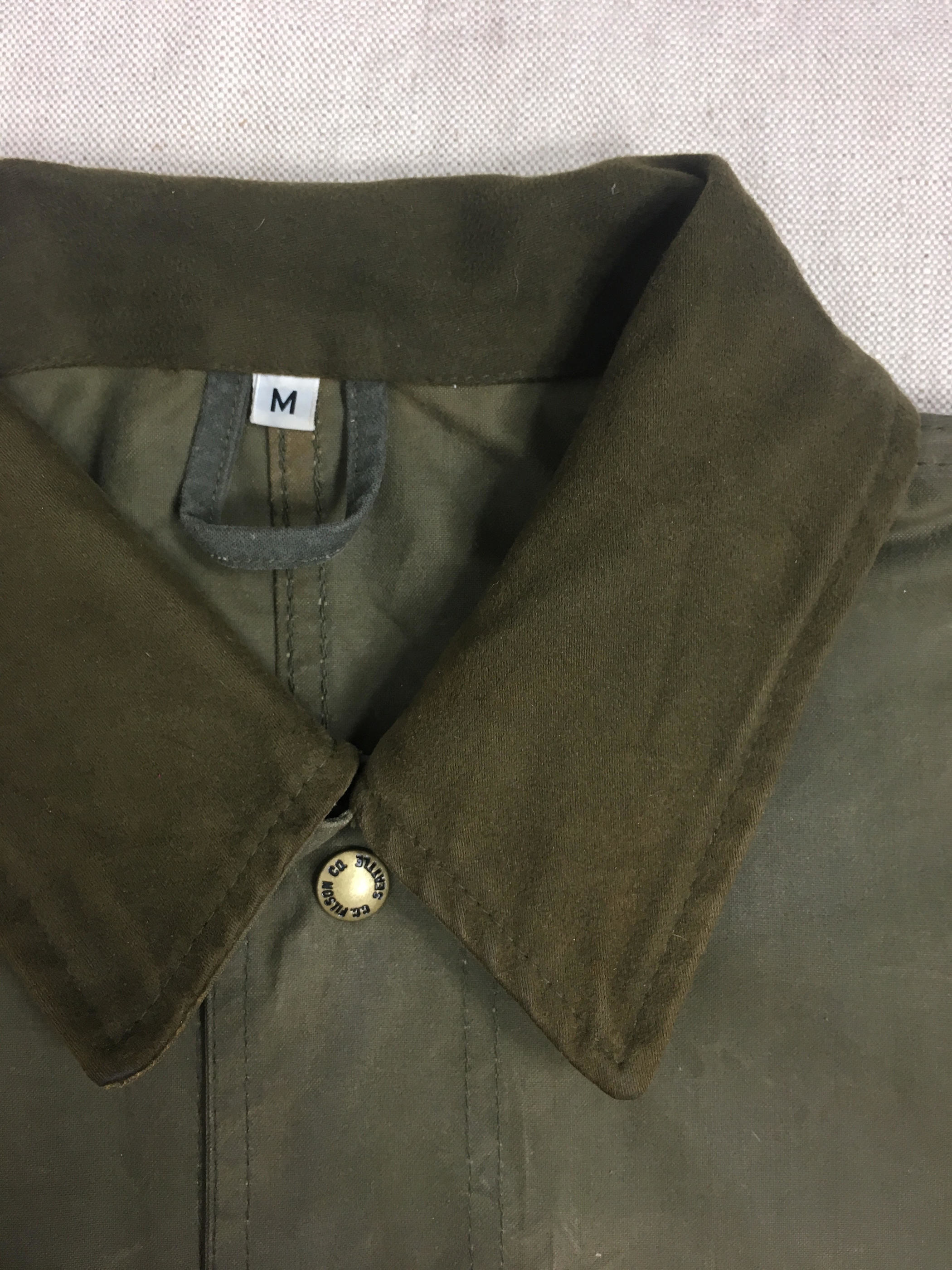 FILSON GARMENT Waxed Jacket フィルソン オイルドジャケット[M]