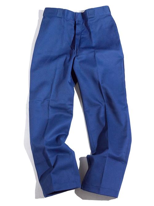 """1990s NOS """"Dickies"""" custom work pants -NAVY-"""