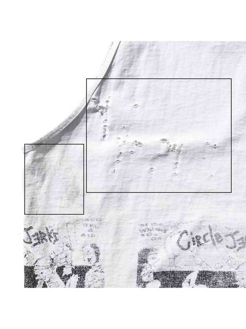 90's CIRCLE JERKS USA製 マルチプリント タンクトップ [XL]