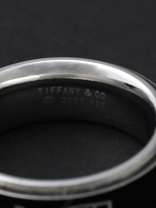 Used / Tiffany & Co. / Old Ring / Sterling Silver 925 × Titanium