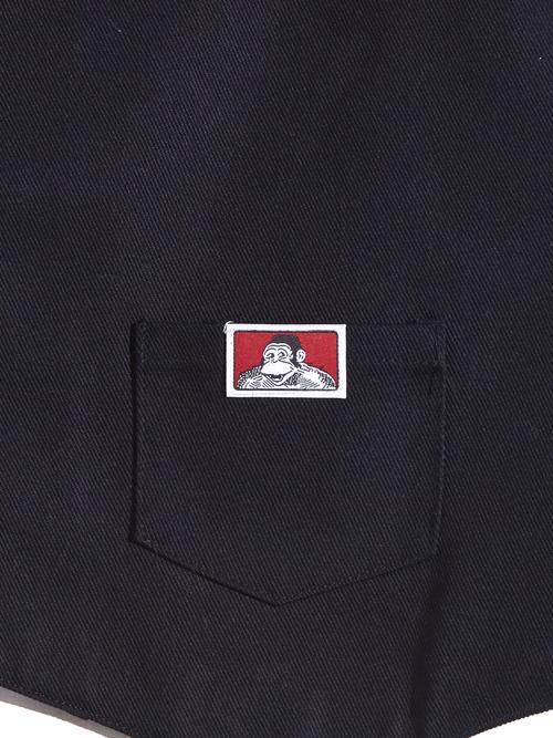 "NOS 2018y ""BAN DAVIS"" work vest -BLACK-"