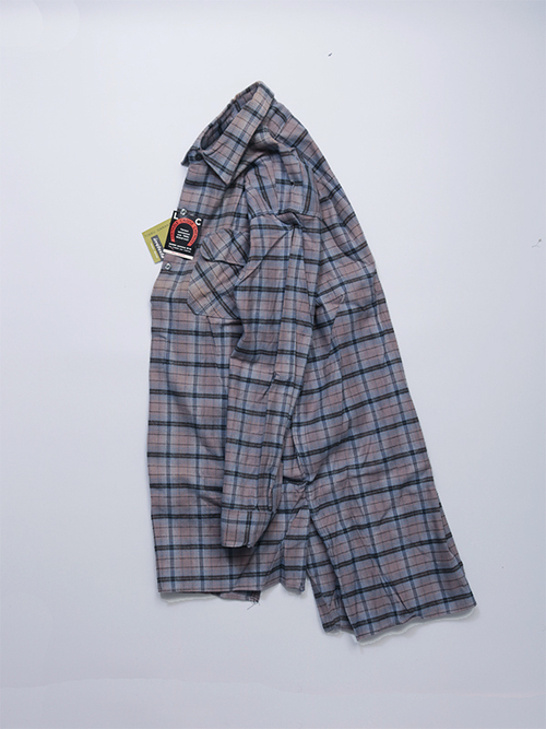 French Work Shirt / Cotton Flannel