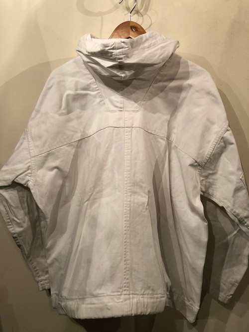 1940s Brirish SAS white cotton smock