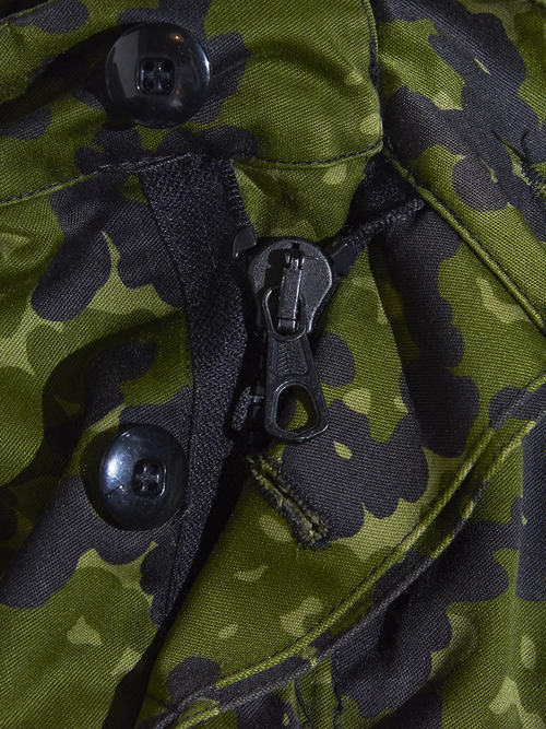 "1990s ""unknown"" camouflage pattern high neck jacket -GREEN-"