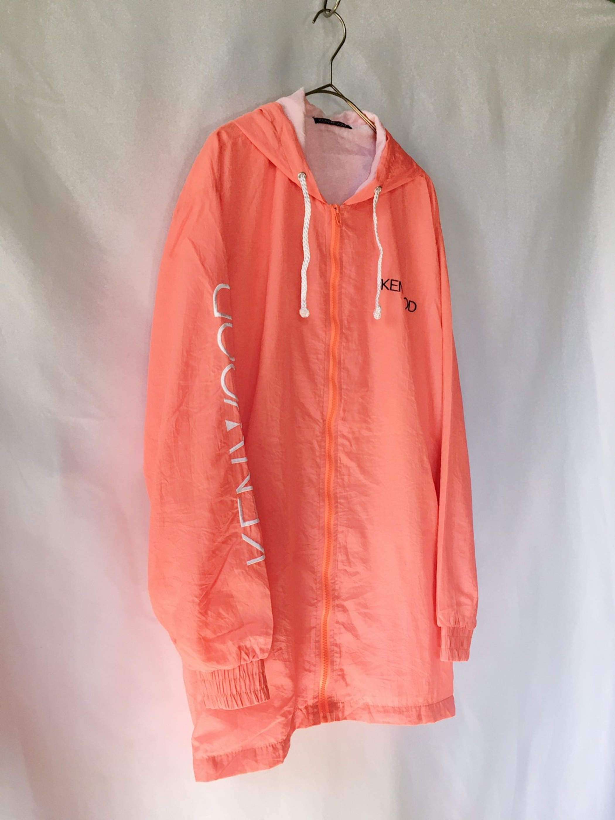 KENWOOD nylon hooded jacket 90s