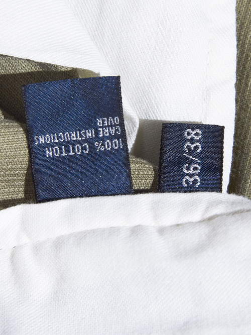 """1990s """" POLO by Ralph Lauren"""" corduroy tuck pants -OLIVE-"""