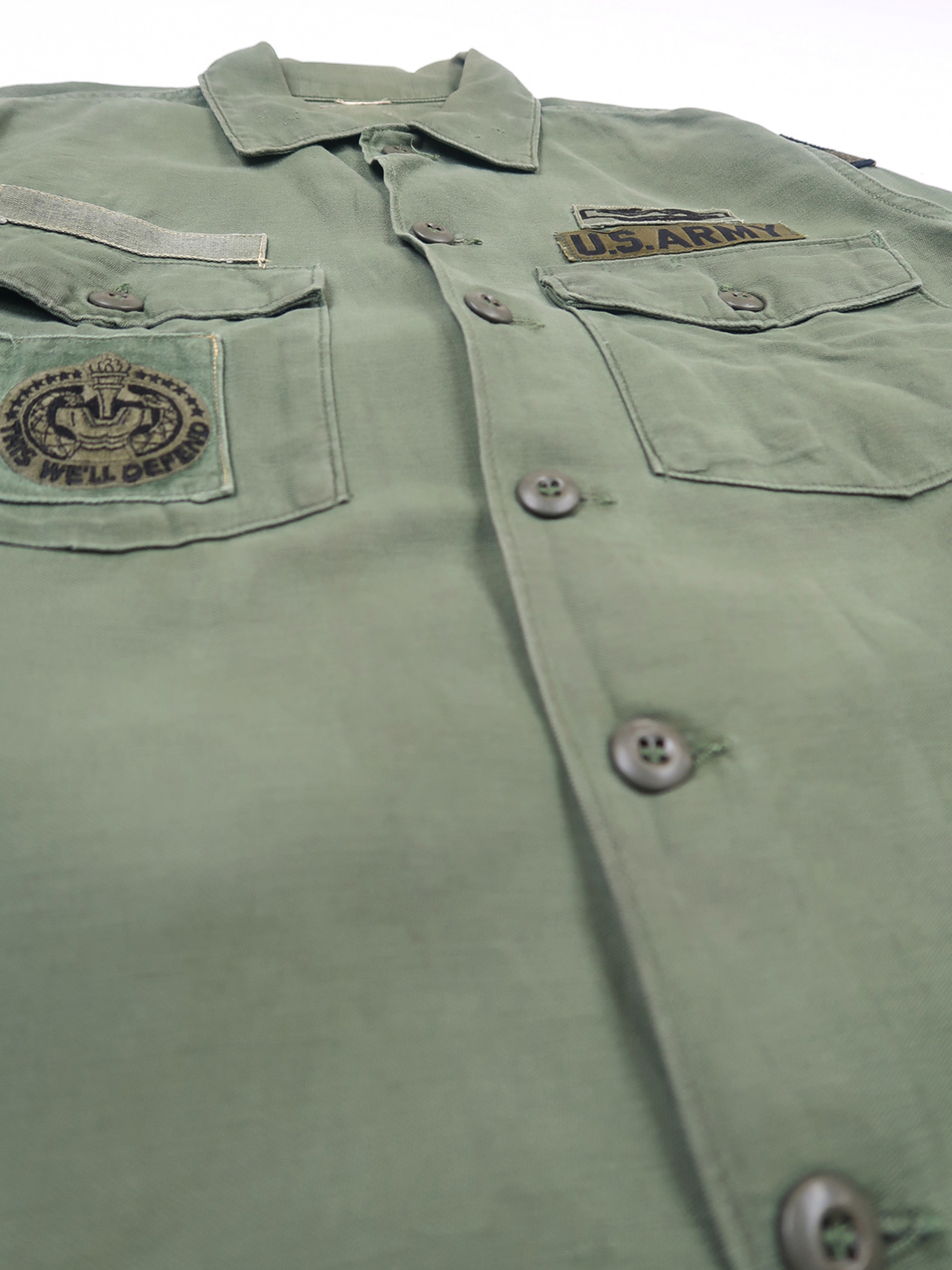 U.S.ARMY ファティーグシャツ OG107