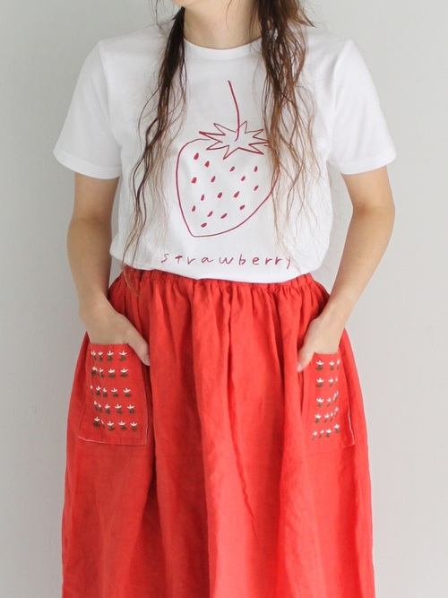 strawberry T shirts red