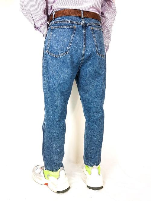 BILL BLASS denim easy pants