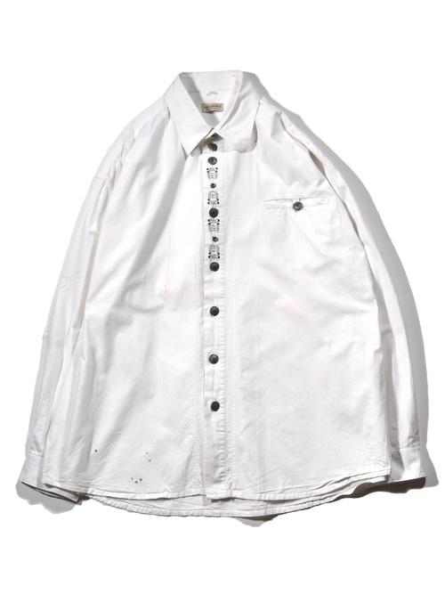 刺繍 シャツ / embroidery shirt
