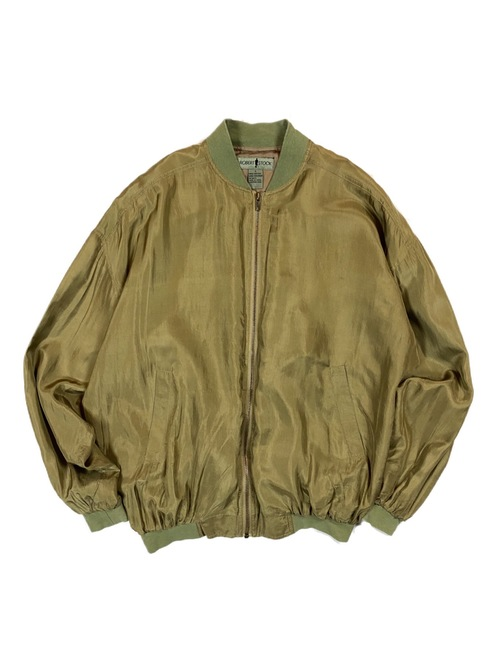 90's ROBERT STOCK silk blouson