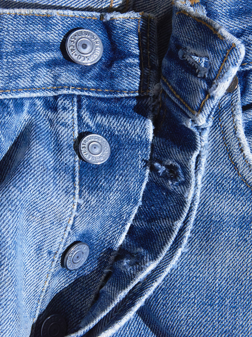 "1970s ""Levi's"" 501 66single denim pants -BLUE-"