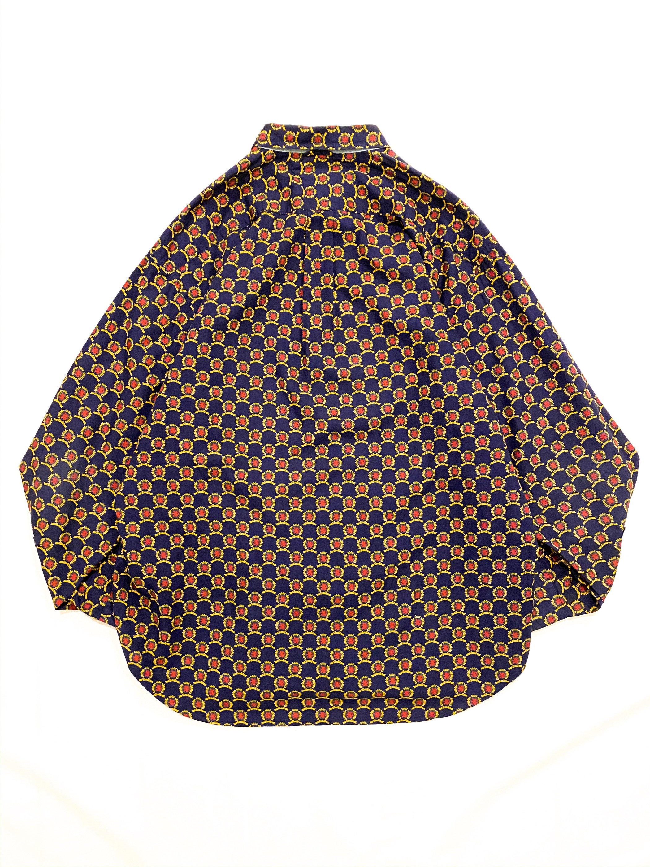 90's TOMMY HILFIGER all patterned shirt