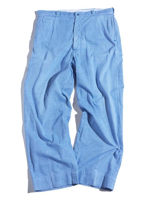 """1950s """"PIONEER"""" pin check work pants -PIN CHECK-"""