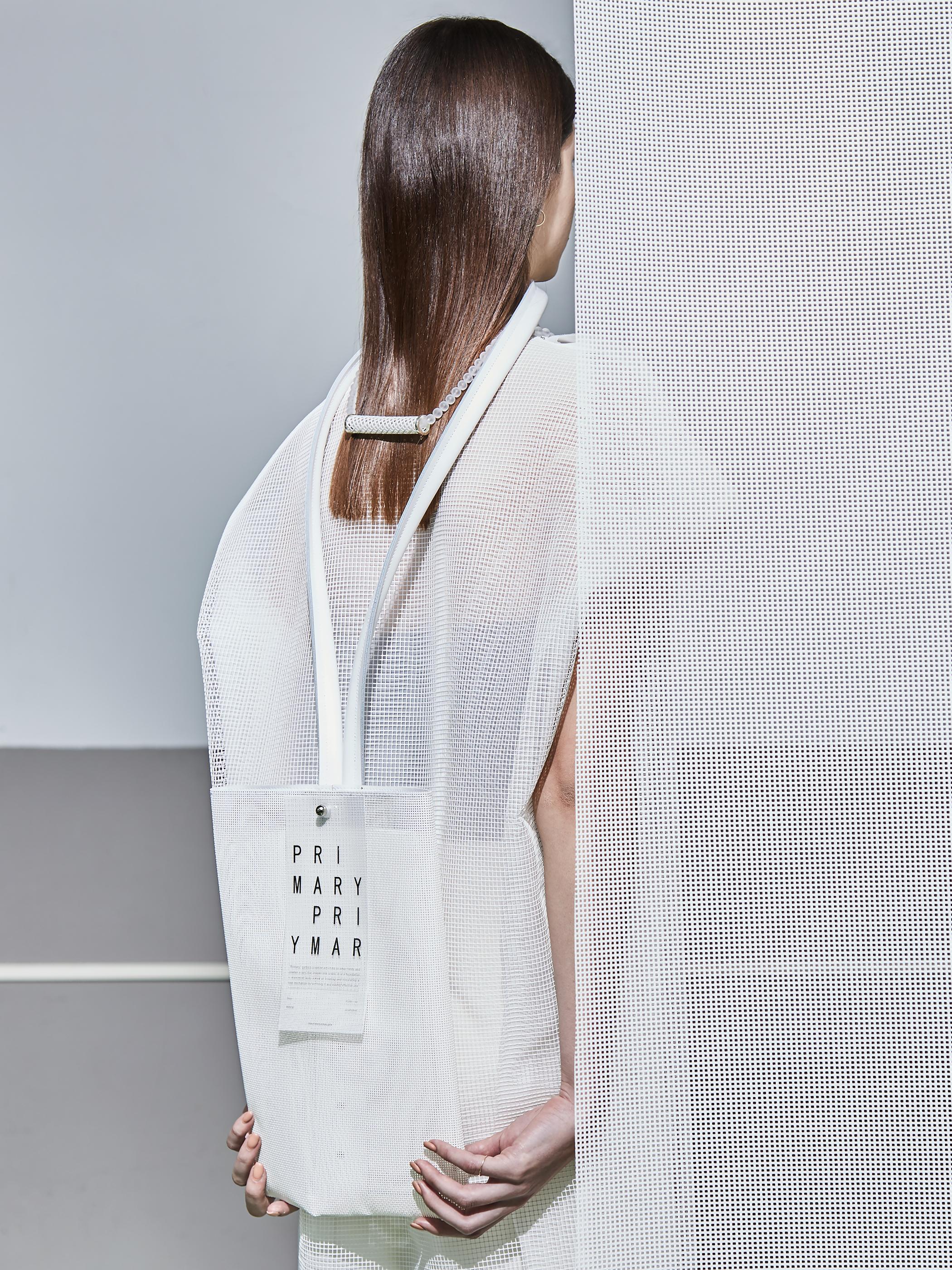 CONICAL / chiffon dress