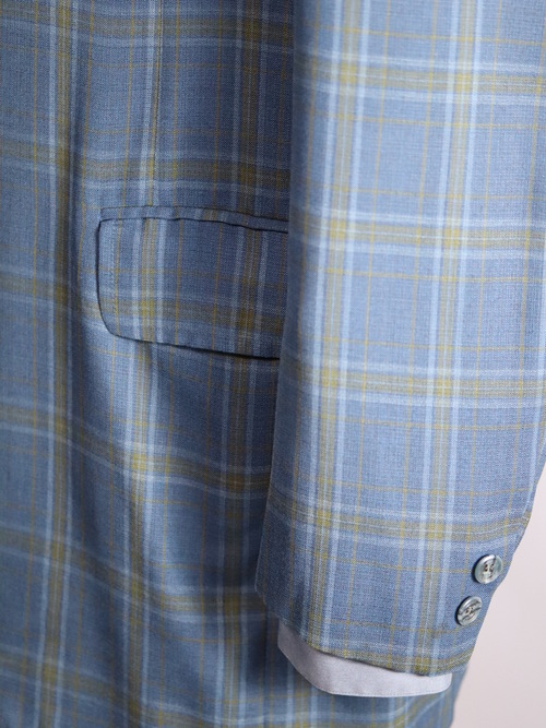 1960's Tempo Check Tailored Jacket