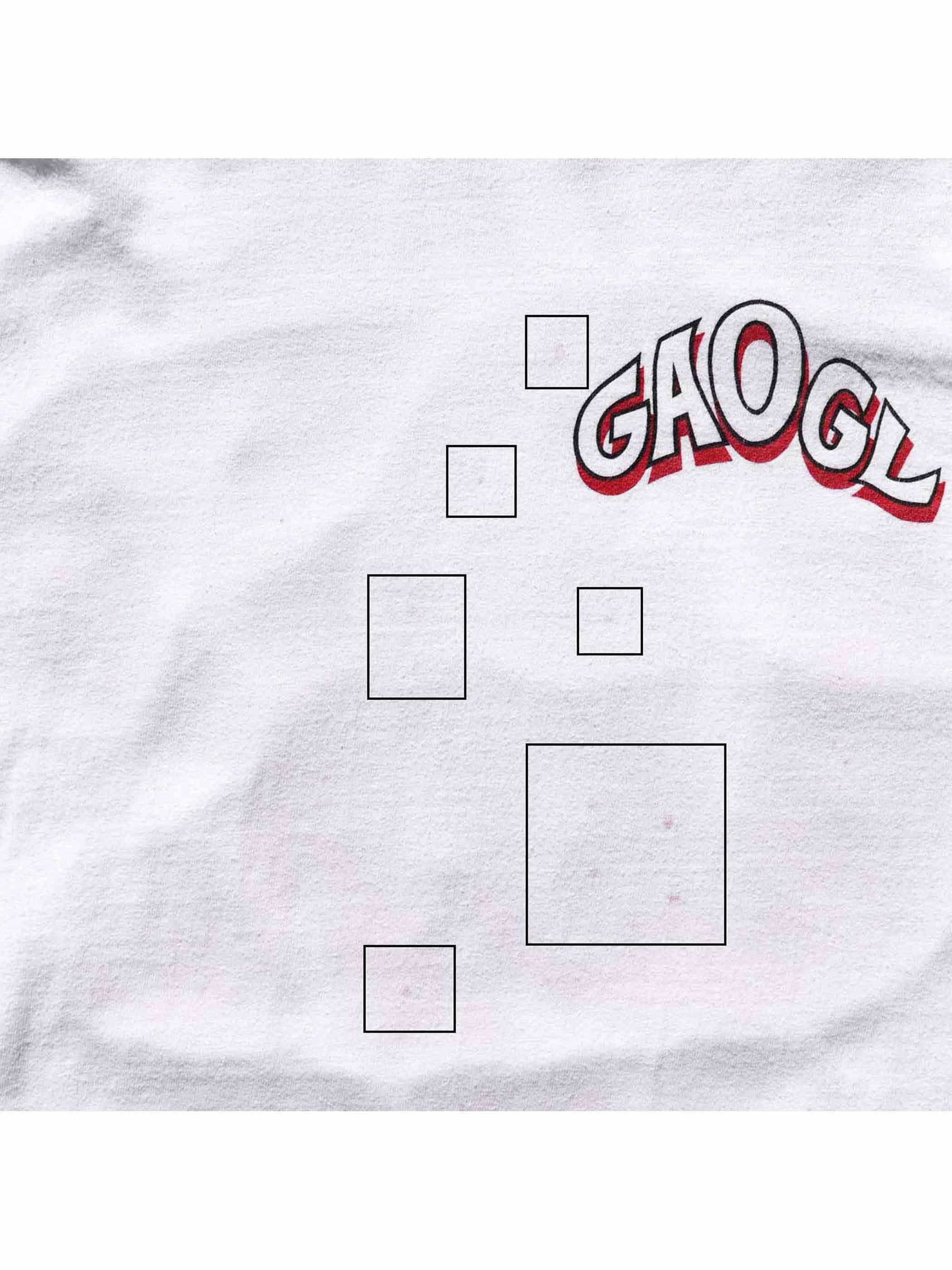 """90's~ GAOGL """"GET AIR OR GET LOST"""" ロングスリーブTシャツ [L]"""