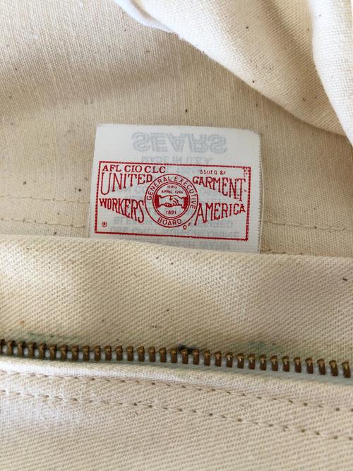 Vintage 70's-80's USA Dead Stock SEARS White Painter Pants