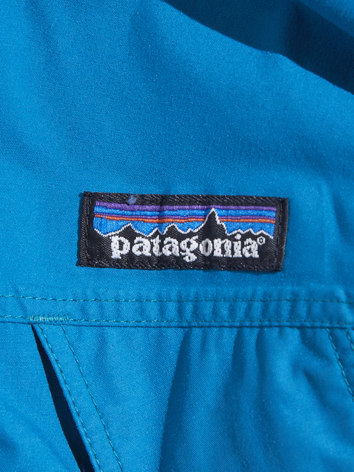 "2000y ""patagonia"" storm jacket -BLUE GREEN-"