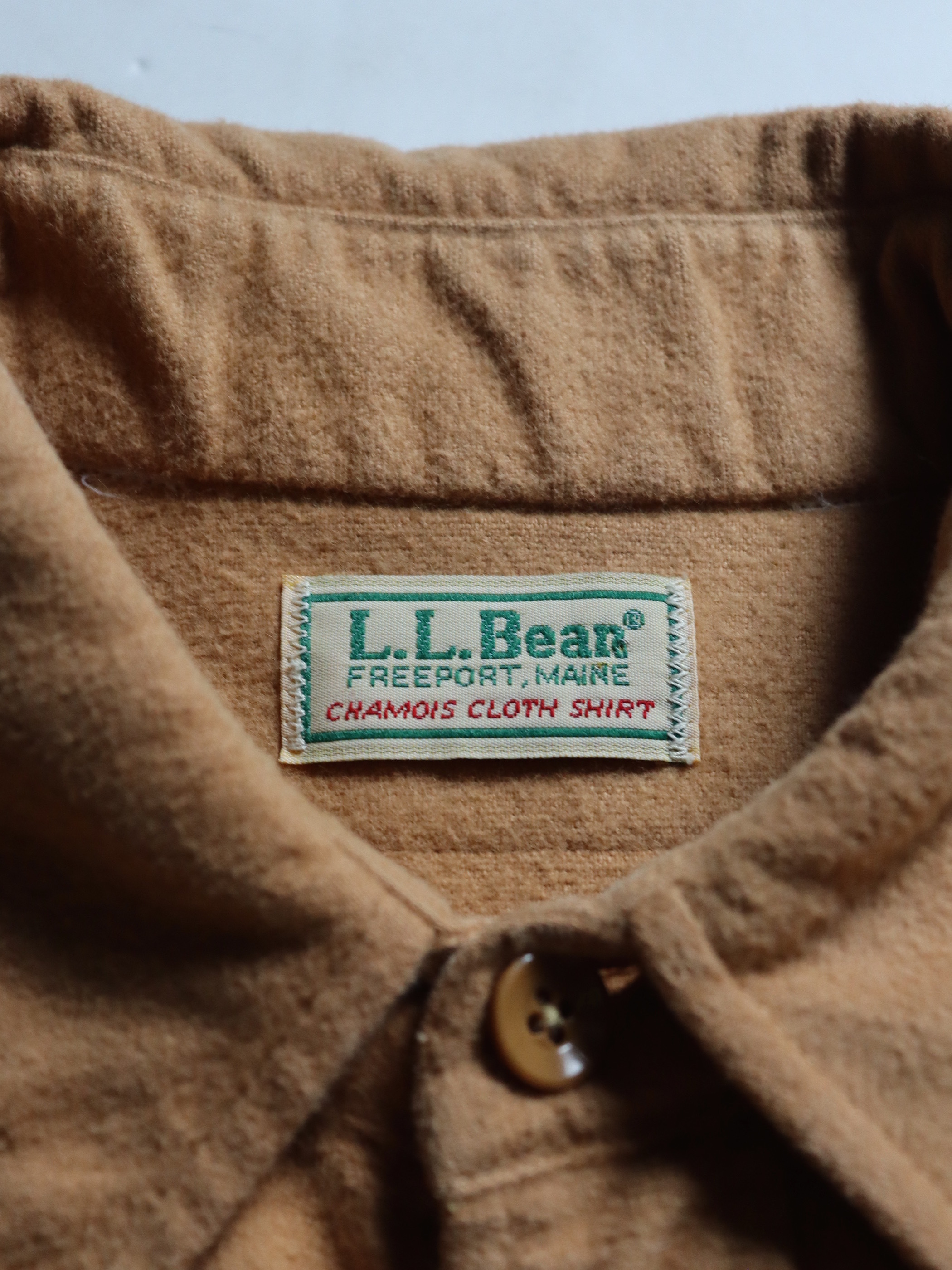 1990's L.L.Bean Chamois Cloth Shirts Made in USA