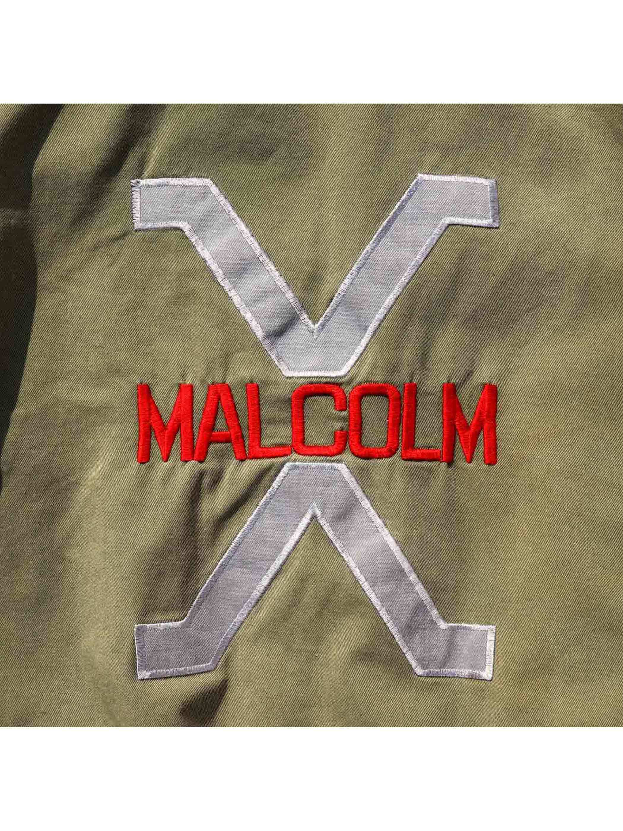 "80's BE-BOP BAGGY ""MALCOLM X"" USA製 ジップアップジャケット [FREE]"